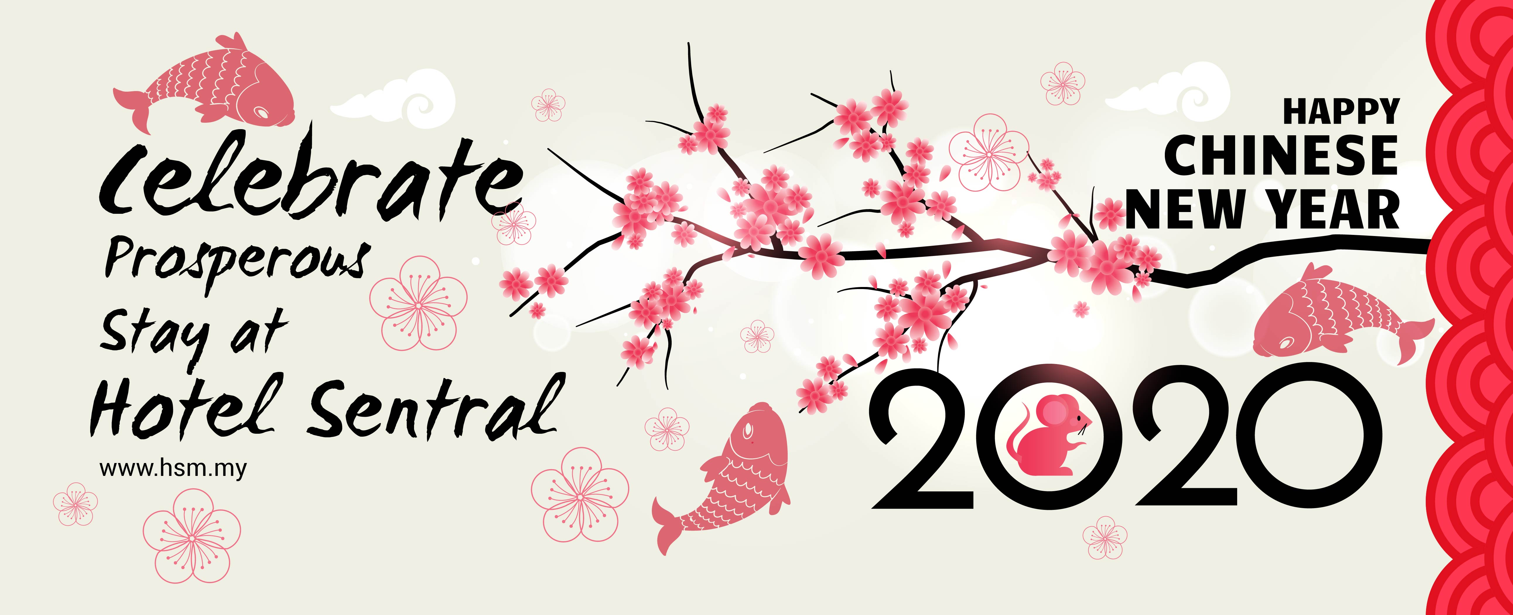 Hotel Sentral - Chinese New Year Banner